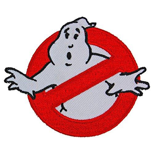Ghostbusters patch Logo badge Halloween Costume Idea 80s fancy dress]()
