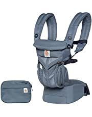 Ergobaby Cool Air Mesh Baby Carrier (Omni 360), Oxford Blue