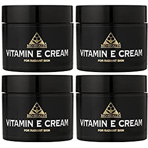 (4 PACK) – Bio Health – Vitamin E Cream | 50ml | 4 PACK BUNDLE by Bio-health