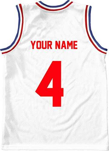RED,8 Tall,Single Number for Sports T-Shirt jersey football Baseball,Iron On, heat transfer, team,t-shirt(Style A)(4-RED)