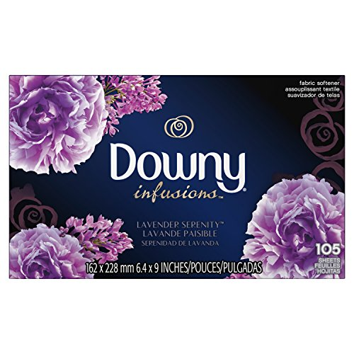 nder Serenity Fabric Softener Dryer Sheets, 105 count ()
