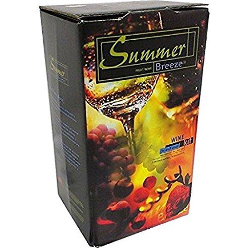 Raspberry Merlot Summer Breeze Wine Kit (7kg) by Unknown