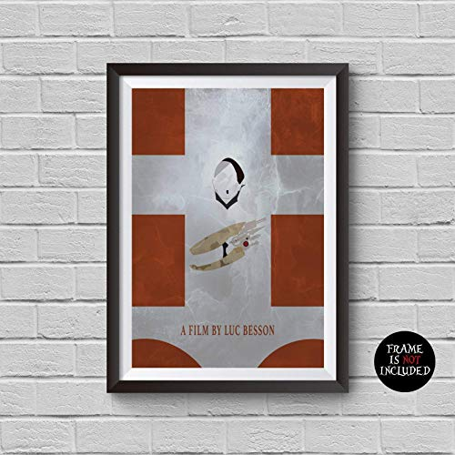 (The Fifth Element Minimalist Poster Gary Oldman Jean-Baptiste Emanuel Zorg Alternative Movie Print Vintage Pop Culture and Modern Home Decor Cinema Poster Artwork Wall Art Wall Hanging Cool Gift)