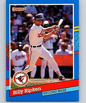 Amazoncom 1991 Donruss 167 Billy Ripken Orioles Mlb Baseball