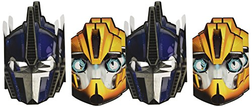 Transformers Paper Masks (8 Pack)
