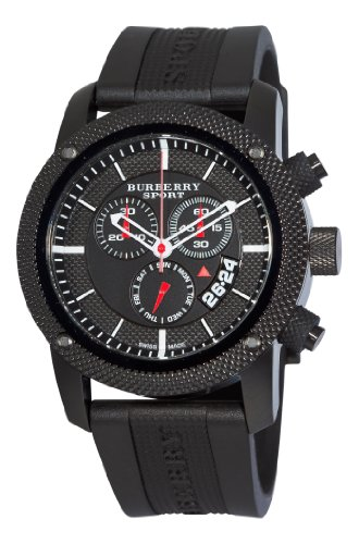 Burberry Men's BU7701 Endurance Black Chronograph Dial Watch by BURBERRY