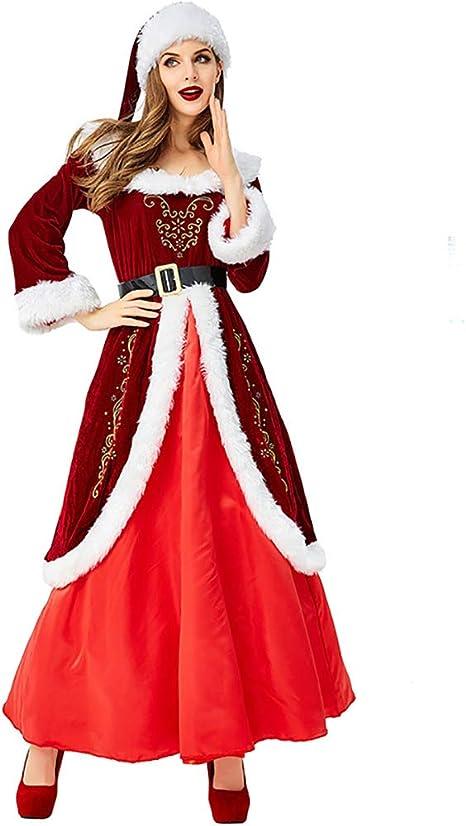 Danny Queen Navidad Disfraz Vestido Navidad Víspera Cosplay ...