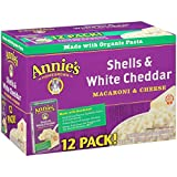 Introduced back in 1989, Annie's Shells & White Cheddar is our original and best selling product. Annie created Shells & Cheddar (as we call it here) in her kitchen when she realized there was no all-natural, white cheddar macaroni &a...