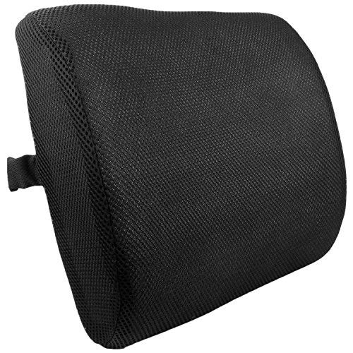 bogo Brands Lumbar Back Support Cushion Pillow for Backrest in Office Chairs and Car Seats by by bogo Brands