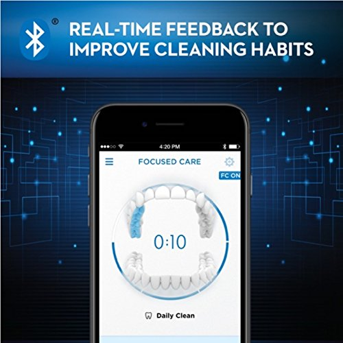 Oral-B Genius Pro 8000 Electronic Power Rechargeable Battery Electric Toothbrush with Bluetooth Connectivity Powered by Braun by Oral B (Image #9)