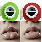 Stingna Sexy Full Lip Plumper Enhancer Hot Sexy Mouth Beauty Lip Pump Enhancement Green Double or Red Single Lobbed Lips Pump Device Quick Lip Plumper Enhancer (RED)