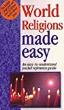 img - for World Religions Made Easy: An Easy to Understand Pocket Reference Guide Paperback Import, 2002 book / textbook / text book