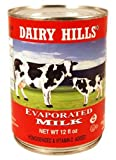 Dairy Hills Evaporated Milk, 12 Ounce (Pack of 24)