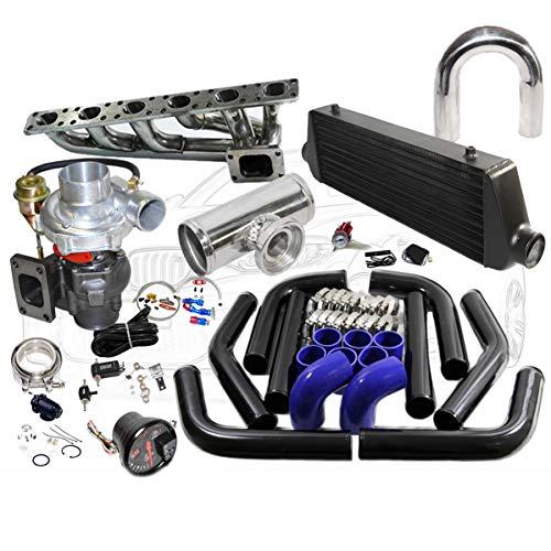 Amazon.com: 14 pcs BMW 323IS 325IS 328IS E36 E46 M50 T04E T3/T4C Turbo Kit With EMUSA Turbo: Automotive