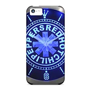 ChristopherWalsh Iphone 5c Perfect Hard Phone Covers Provide Private Custom Colorful Red Hot Chili Peppers Series [GiB2057Meqz]