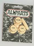 Allparts PK-0178-028 Cream Knob Set for Stratocaster