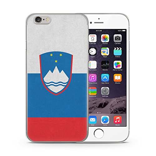 Slowenien Flagge Flag iPhone 6 PLUS & 6S PLUS SLIM Hardcase Hülle Cover Case Schale Slovenia Slovenija
