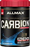 ALLMAX Nutrition Carbion+, Maximum Strength Electrolyte and Hydration Energy Drink, Blue Bomb Pop, 870g For Sale