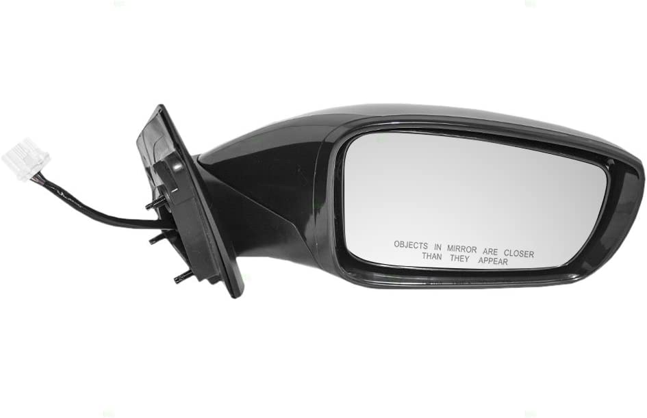 Passengers Power Side View Mirror Heated Signal Replacement for Hyundai 87620-3Q110