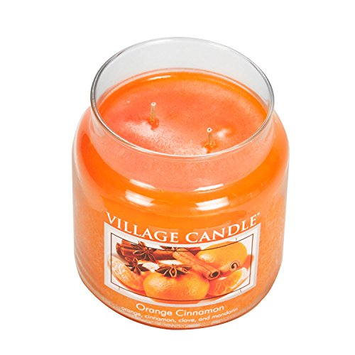 Village Candle Orange Cinnamon 16 oz Glass Jar Scented Candle, Medium by Village Candle (Image #2)