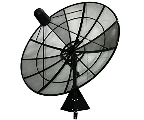 Motorized C/Ku Band Mesh Satellite Dish Package (8ft)