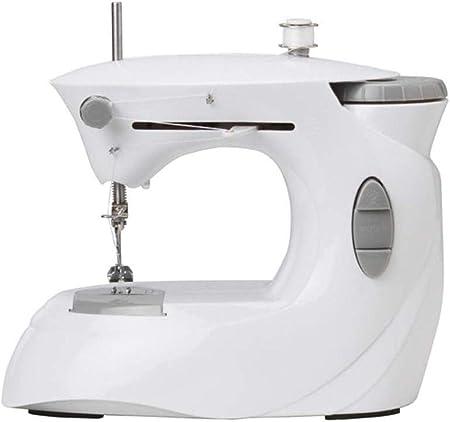 Yuaer Máquina de coser portátil industrial, pequeña máquina de ...