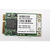 HP Pavilion DV6000 Wireless PCI-E Card 802.11B/G BCM94311 407107-001 395261-001