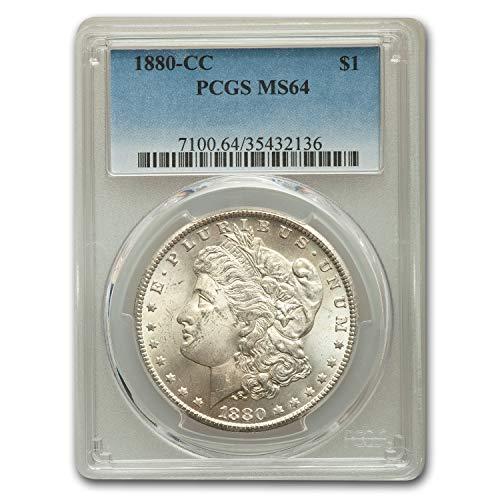 1880 CC Morgan Dollar MS-64 PCGS $1 MS-64 PCGS