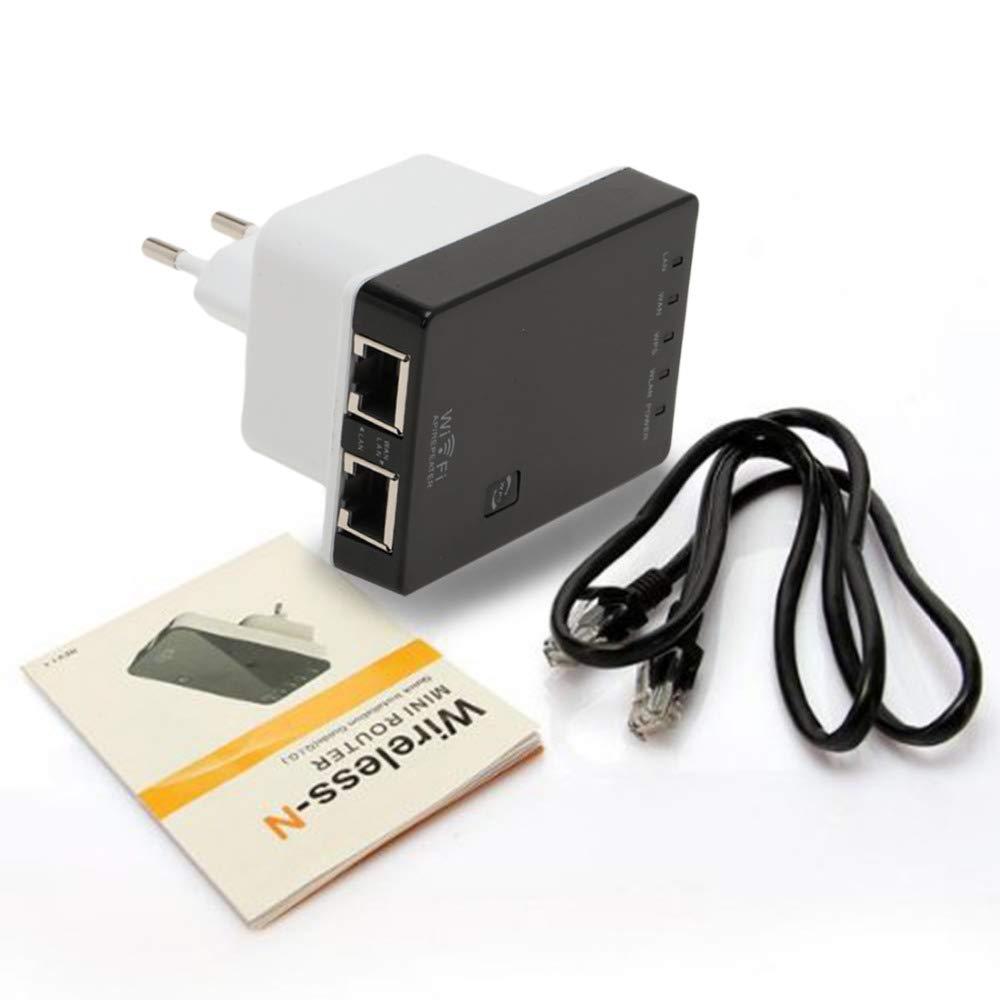 Mini Se/ñal Red Router Repetidor Extensor Booster EU Wireless Duradera WiFi