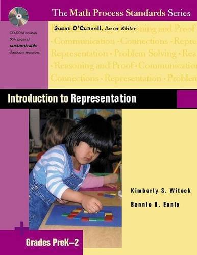 Introduction to Representation, Grades PreK-2 (The Math Process Standards Series)