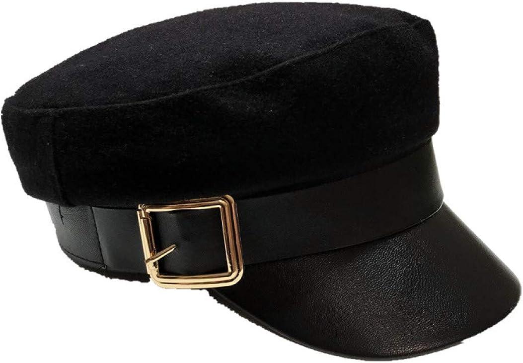 SANOMY Newsboy Caps PU...