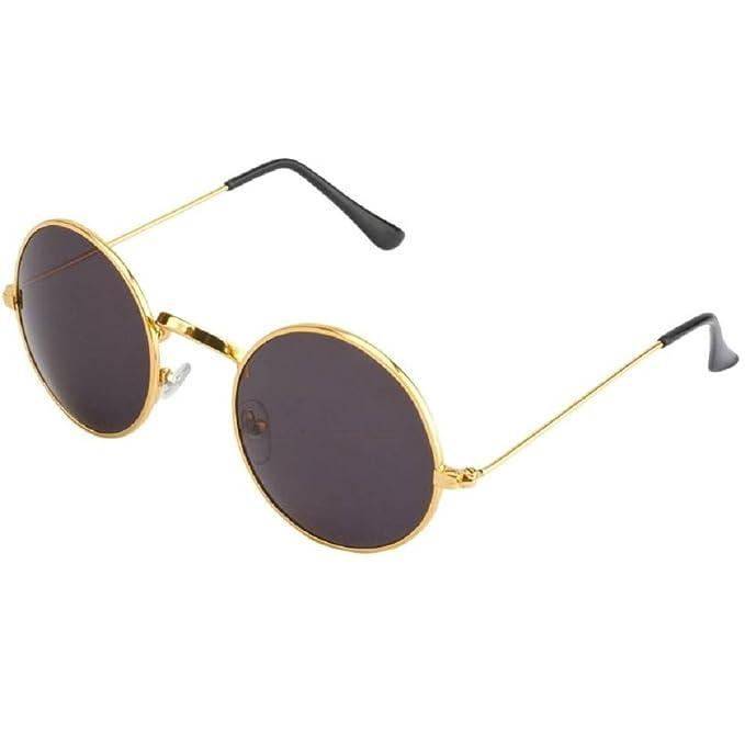 d950d8baaf8 Silver Kartz Classic Round Unisex Sunglasses (wy136