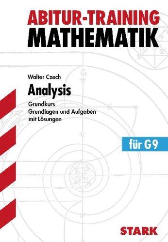 Abitur-Training - Mathematik Analysis gk G9