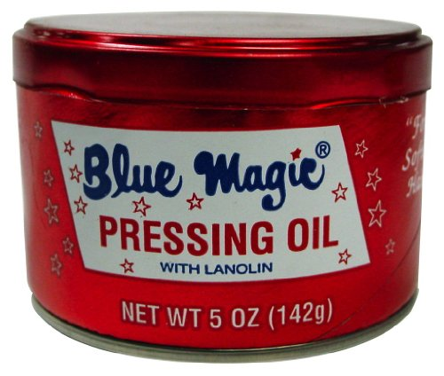 Blue Magic Hair Pressing Oil with Lanolin - 5 Oz