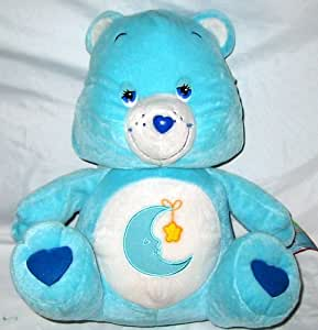 """Amazon.com: 15"""" Care Bear Sitting Bedtime Bear Plush: Toys ..."""
