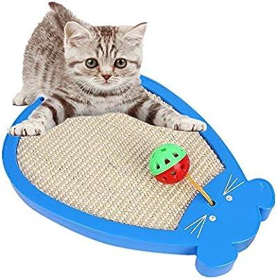 JZTRADING Rascador para Gatos Cosas para Gatos Gato de Juguete ...