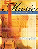 Music in Theory and Practice, Volume 1 (v. 1)