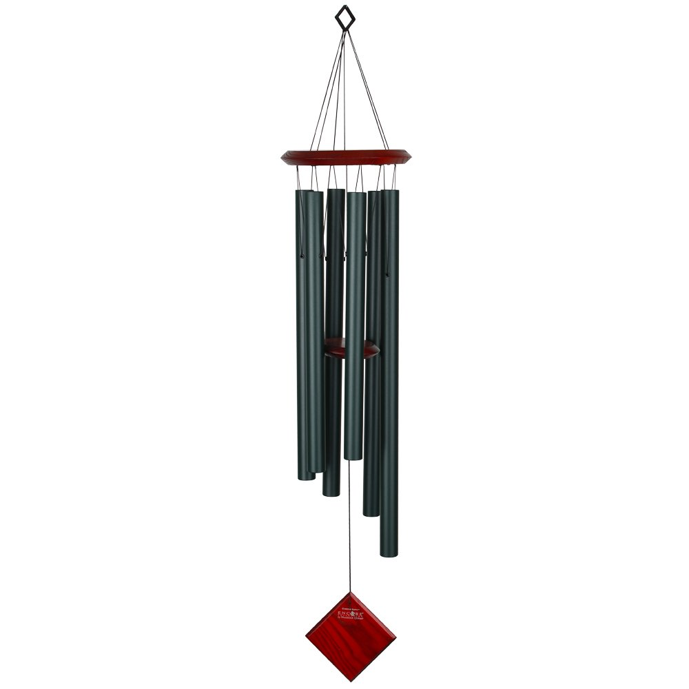Woodstock Chimes Chimes of Earth - Evergreen, 37x11x11 cm by Woodstock Chimes