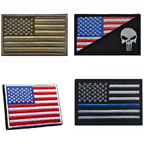 Aiyuda-Military-Tactical-Embroidered-US-Flag-Velcro-Backed-Patch-Removable