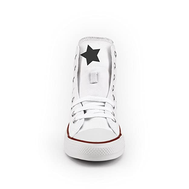 8e8a03ceeab2 Converse All Star High Printed and Studded - handmade shoes - Italian Brand  - Giraffe  Amazon.co.uk  Shoes   Bags