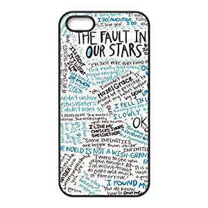 linJUN FENGSimple graffitti motto pattern Cell Phone Case for iPhone 5S