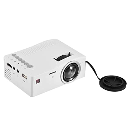 Amazon.com: ASHATA Mini Projector, Portable LED Projector ...