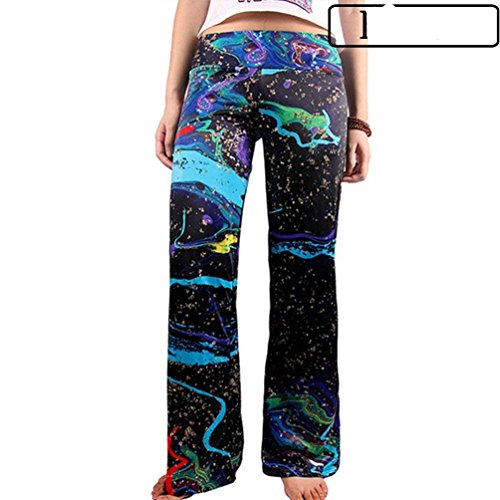 Ragazza Pantaloni Pants Pantaloni Donna Estivi 3 Allentato Tempo Colour Accogliente Fashion Chic Stampate Libero Baggy Pantaloni Larghi Vintage Eleganti Pantalone Larghi Abbigliamento XUwCwqA7xd
