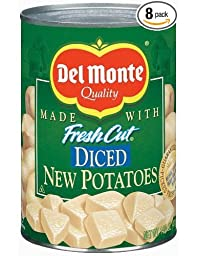Del Monte Diced New Potatoes 14.5 oz (Pack of 24)