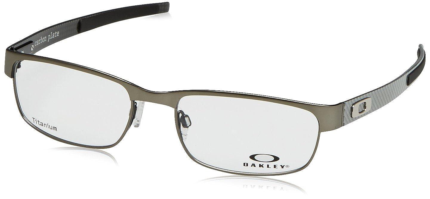 34b6221b0e Oakley Rx Eyewear Men s Ox5079 Carbon Plate Light Frame Metal Eyeglasses