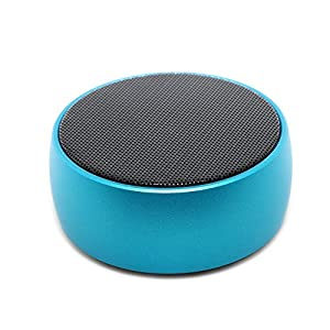 SODYSNAY Q8 Mini Bluetooth Speaker,Bluetooth Speaker with 9 Hour Playtime, 39-Foot Bluetooth Range Dual-Driver Portable Wireless Speaker with Low Harmonic Distortion and Superior Sound-Blue