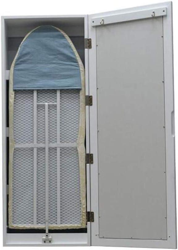 Mesas Jcnfa Gabinete de Tabla de Planchar Plegable de Montaje en Pared con Espejo Rectangular y Tabla de Planchar incorporada de Almacenamiento: Amazon.es: Hogar
