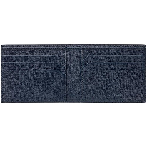Wallet Indigo Sartorial 6CC Sartorial MontBlanc 6CC Indigo Wallet MontBlanc 6nF818qw