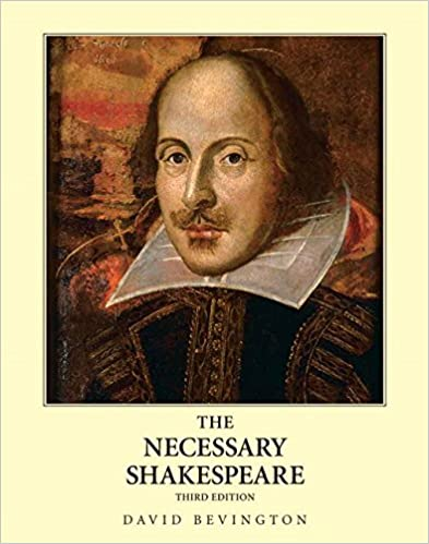 Amazon The Necessary Shakespeare 3rd Edition 9780205652167