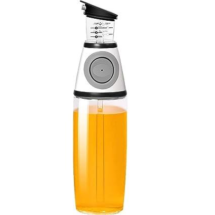 Olive Oil Dispenser Bottle - MAXZONE Oil Spray Bottle with NoOil Pourer Dispensing Bottles for Kitchen
